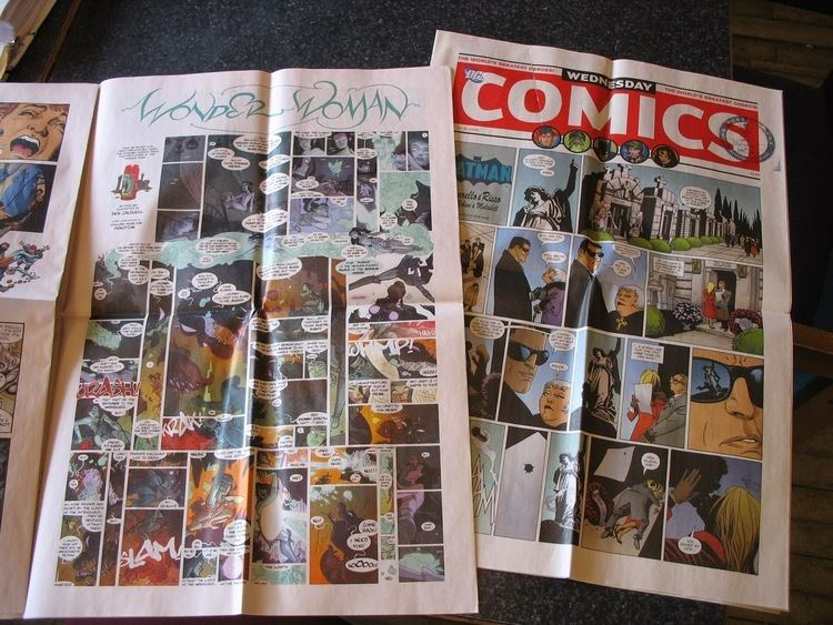 Wednesday Comics The Matt Signal Recommended Reading for 130 Wednesday Comics