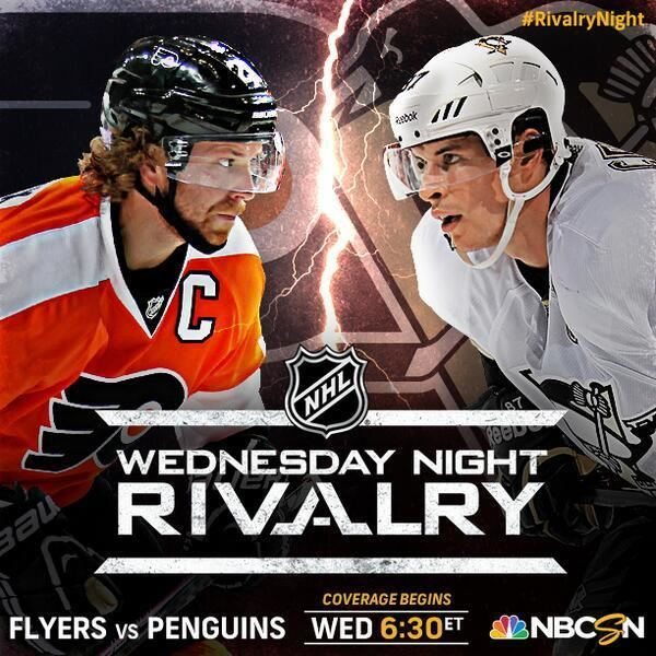 Wednesday Night Rivalry NHL on NBC on Twitter Wednesday Night Rivalry NHLFlyers and