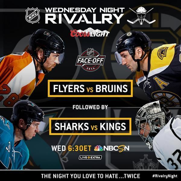 Wednesday Night Rivalry NBCSN on Twitter The NHL and Wednesday Night Rivalry is back THIS