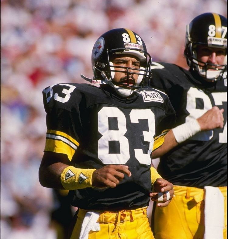 Weegie Thompson Weegie Thompson one tough Steelers wide out from the 1980s