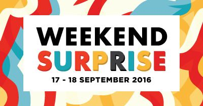 Weekend Surprise SOGO Special Promo for Mens Department