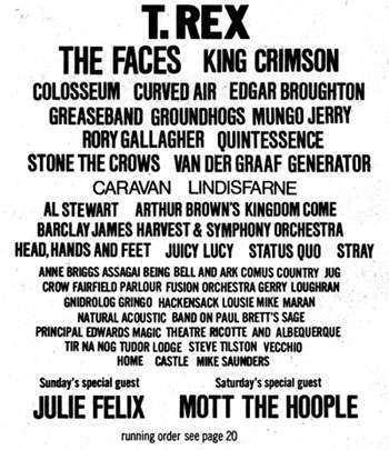 Weeley Festival weeleyfestivalthe program
