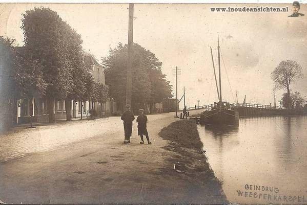 Weesperkarspel WEESPERKARSPEL foto uit 1928 In Oude Ansichten