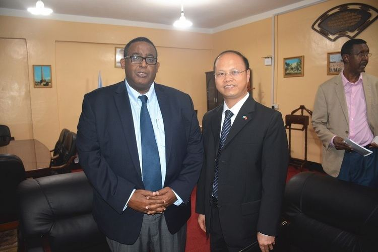 Wei Hongtian Ambassador Wei Hongtian Meets with the NewlyAppointed Somali Prime
