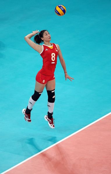Wei Qiuyue Qiuyue Wei Photos Photos Olympics Day 11 Volleyball Zimbio