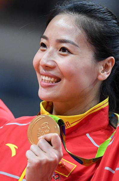 Wei Qiuyue Exclusive Volleyball captain sees gold as inspirationchinacom