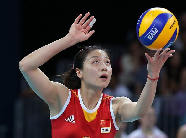 Wei Qiuyue Qiuyue Wei Photos Photos Olympics Day 1 Volleyball Zimbio