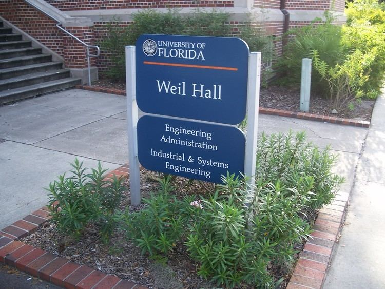 Weil Hall (Gainesville, Florida) httpsuploadwikimediaorgwikipediacommonsbb