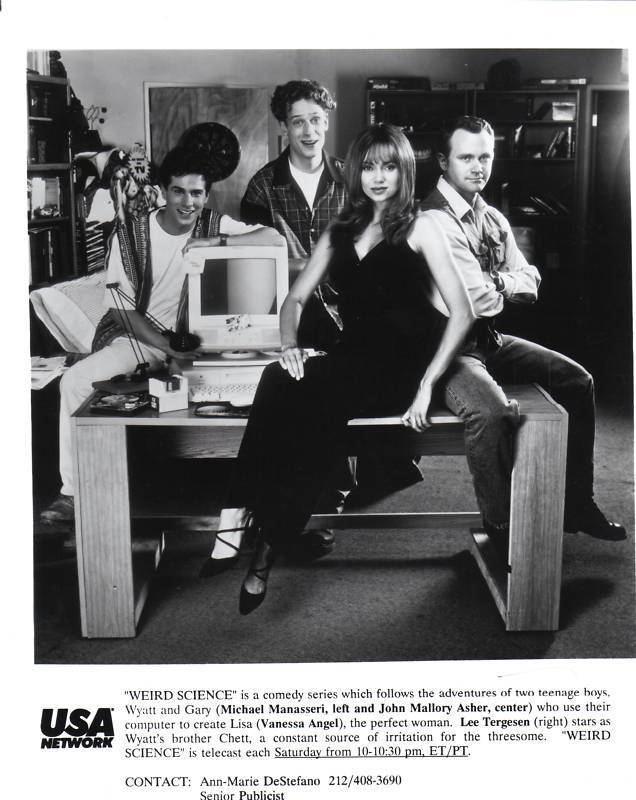 Weird Science (TV series) Cast of Weird Science TV Series Press Photo 1994 Sitcoms Online