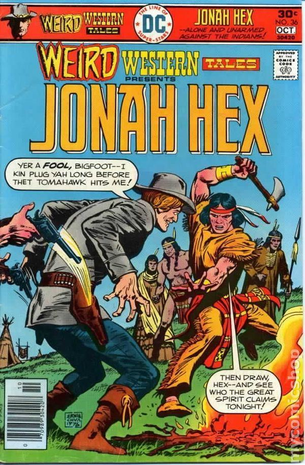 Weird Western Tales Weird Western Tales 1972 1st Series comic books