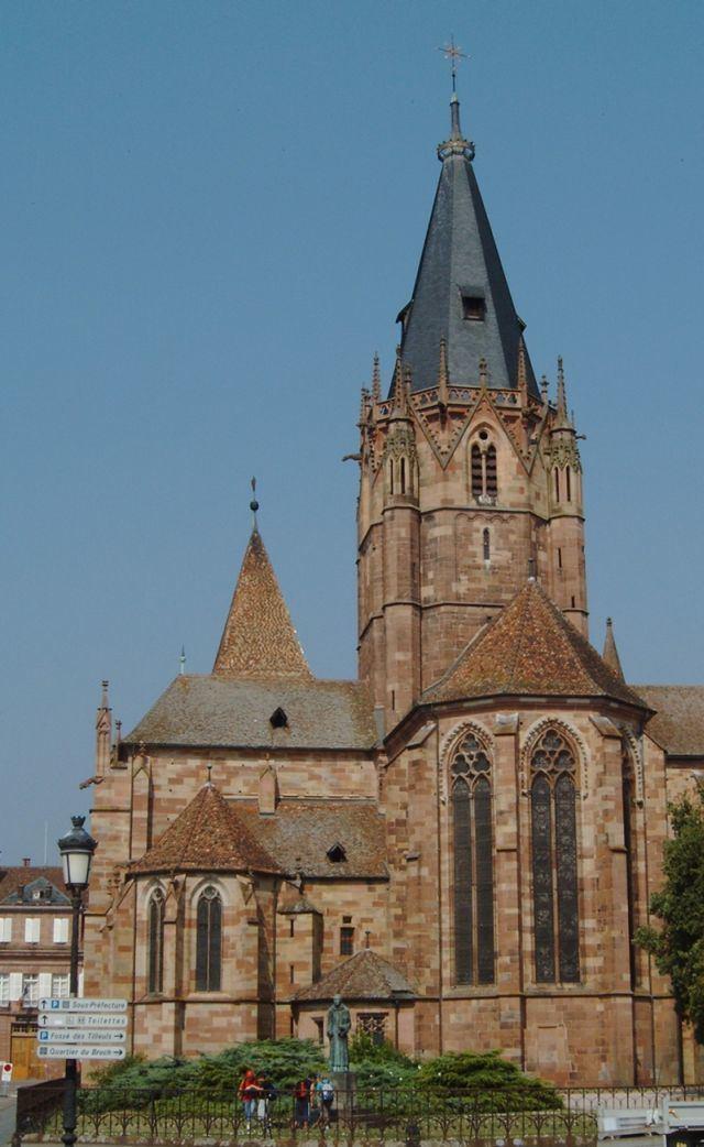 Weissenburg Abbey, Alsace