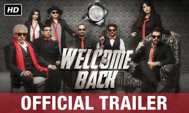 Welcome Back (film) Welcome Back Official Trailer English Subtitles Anil Kapoor