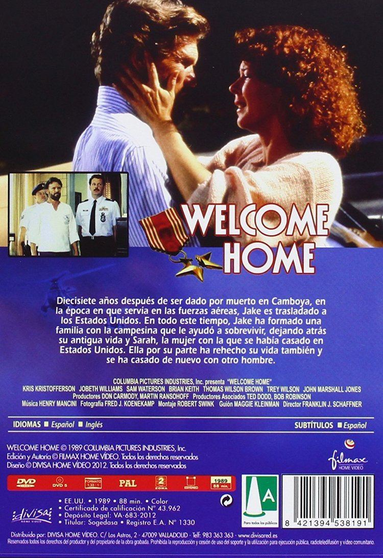 Welcome Home 1989 Amazoncouk Kris Kristofferson Sam Waterston