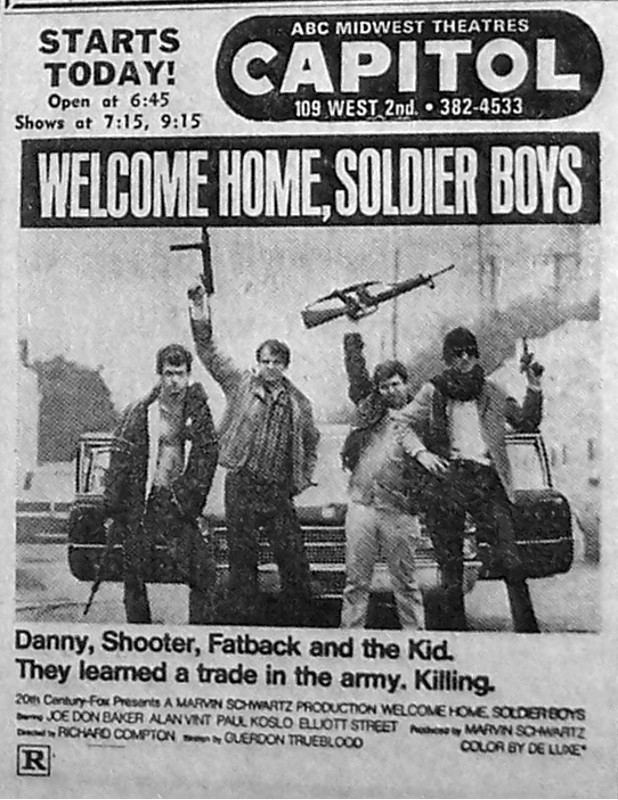 Welcome Home, Soldier Boys Welcome Home Soldier Boys Scenes from the Morgue