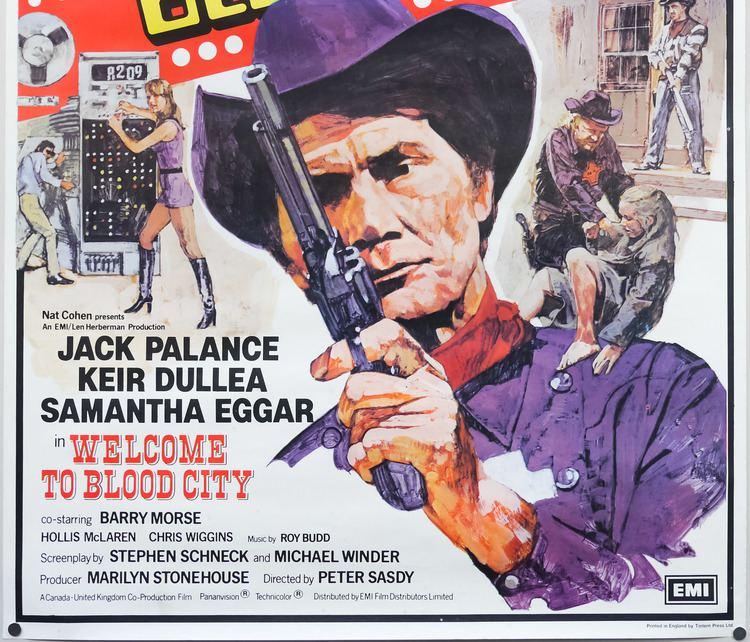 Welcome to Blood City Welcome to Blood City one sheet UK