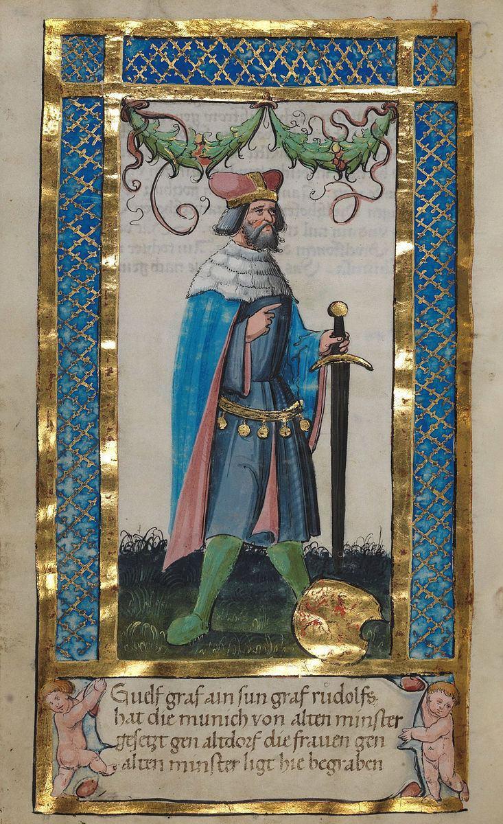 Welf II, Count of Swabia