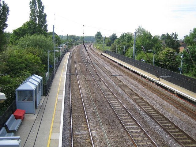 Welham Green railway station