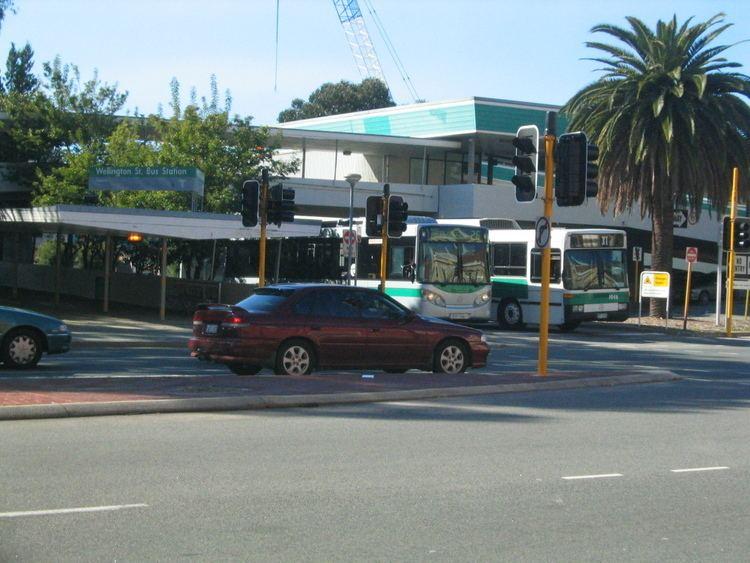 Wellington Street bus station