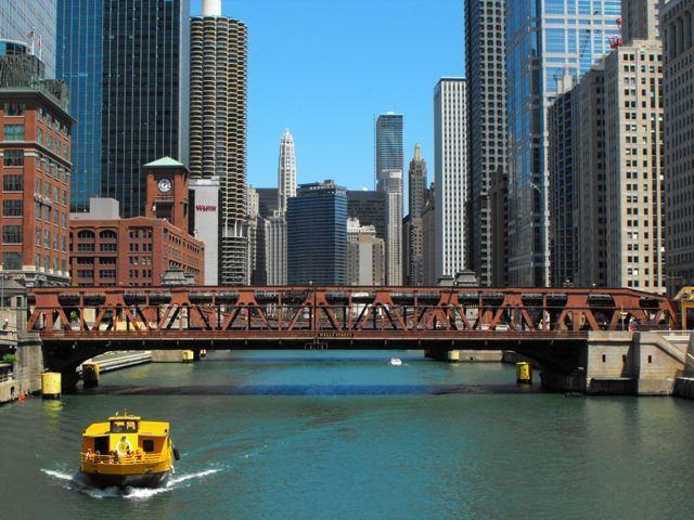Wells Street Bridge (Chicago) Wells Street Bridge HistoricBridgesorg