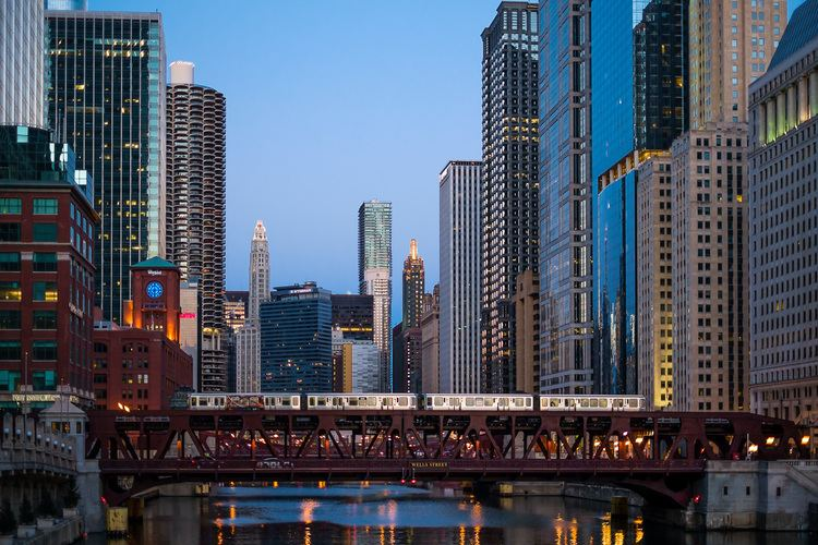 Wells Street Bridge (Chicago) Bridge Chicago PhotoAbuse