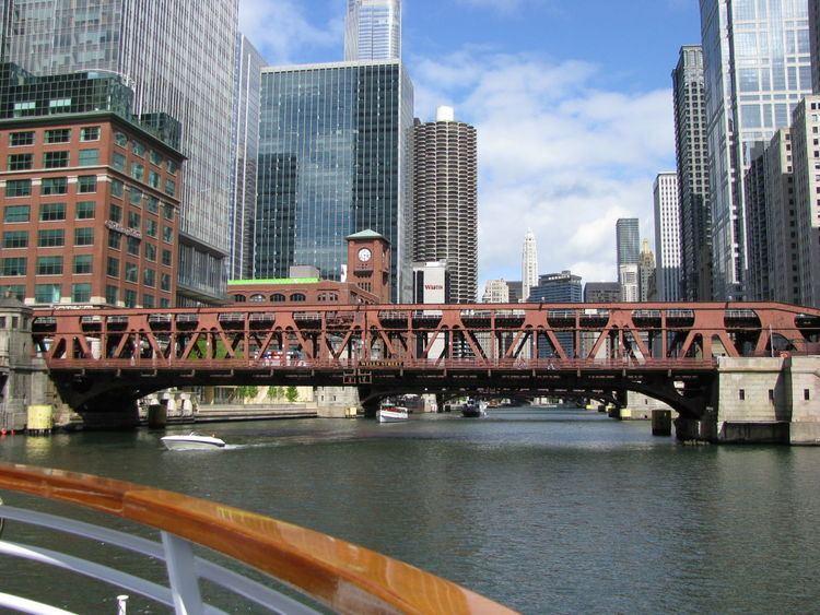 Wells Street Bridge (Chicago) Bridgehuntercom Wells Street Bridge