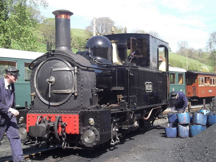 Welshpool and Llanfair Light Railway No.1 The Earl and No.2 Countess