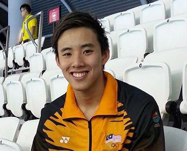 Welson Sim Welson qualifies for 2016 Olympics BorneoPost Online Borneo