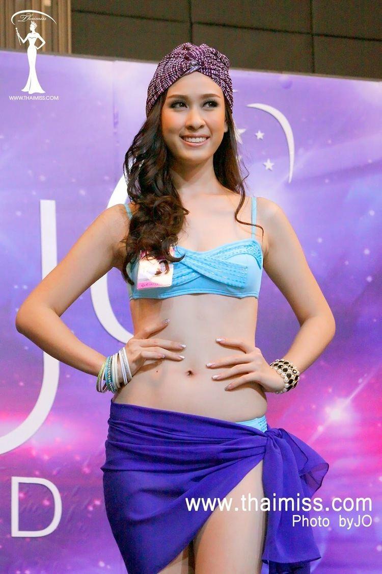 Weluree Ditsayabut O Universo dos concursos Miss Thailand Universe 2014