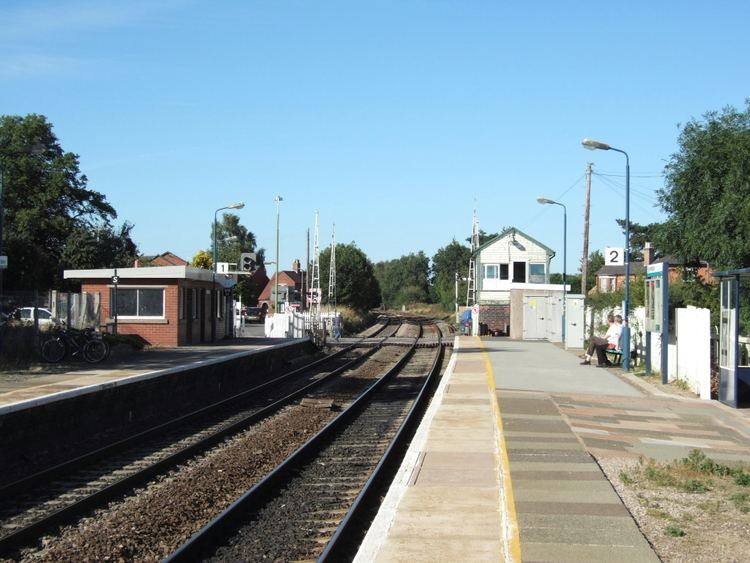 Wem railway station