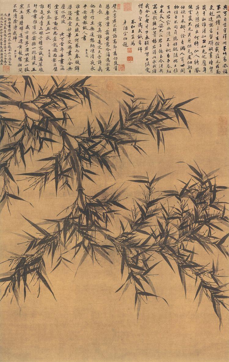 Wen Tong wwwchinaonlinemuseumcomresourcesPaintingBambo