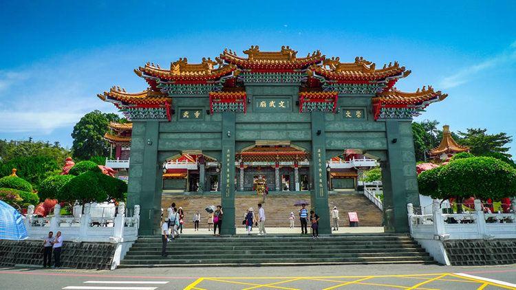 Wen Wu temple Lingzhi Store Wen Wu Temple Sun Moon Lake Ruifeng Night Market