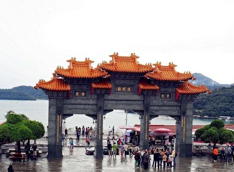 Wen Wu temple Sailormoon Nantou Large Imposing Wen Wu Temple