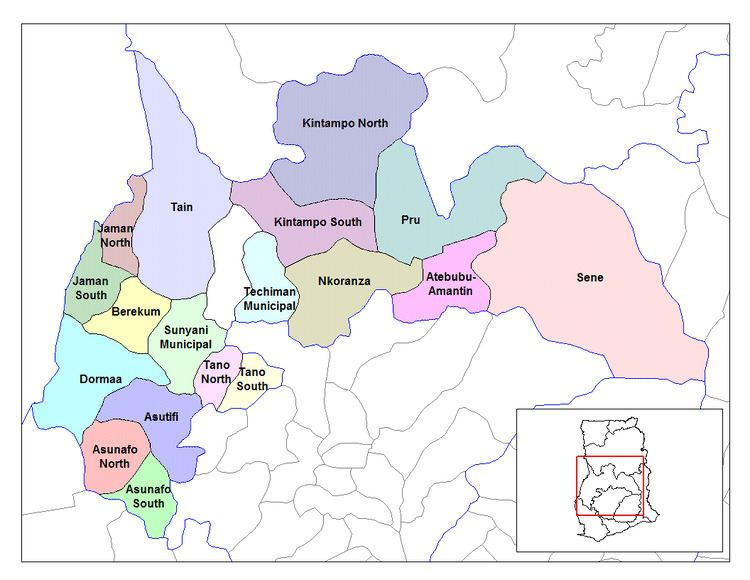Wenchi Municipal District