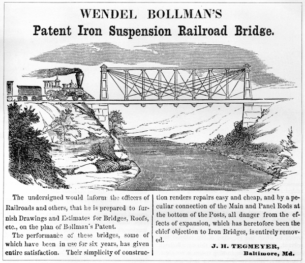 Wendel Bollman The Engineering Contributions of Wendel Bollman by Robert M Vogel