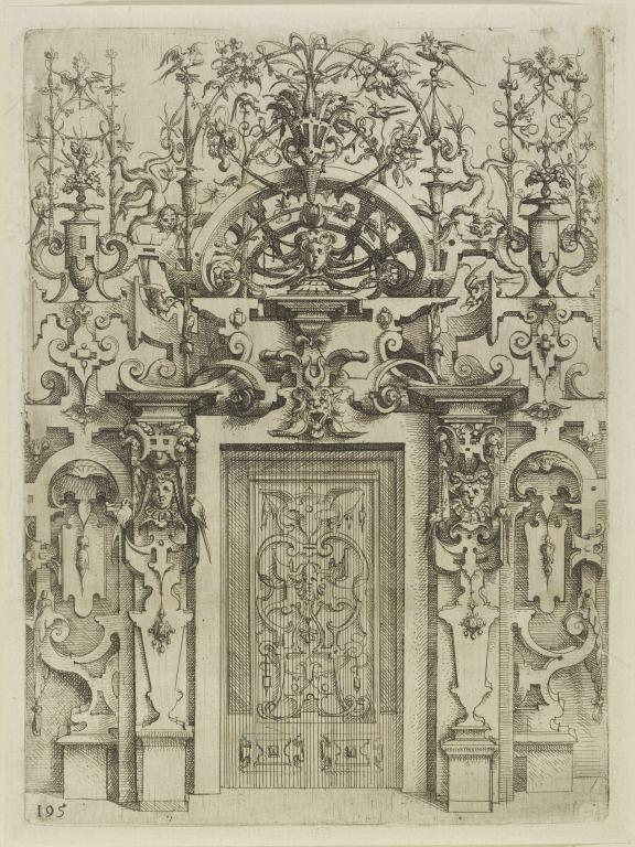Wendel Dietterlin Architectura von Ausztheilung Symmetria und Proportion der