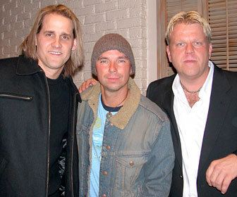 Wendell Mobley Neil Thrasher L Kenny Chesney and Wendell Mobley from