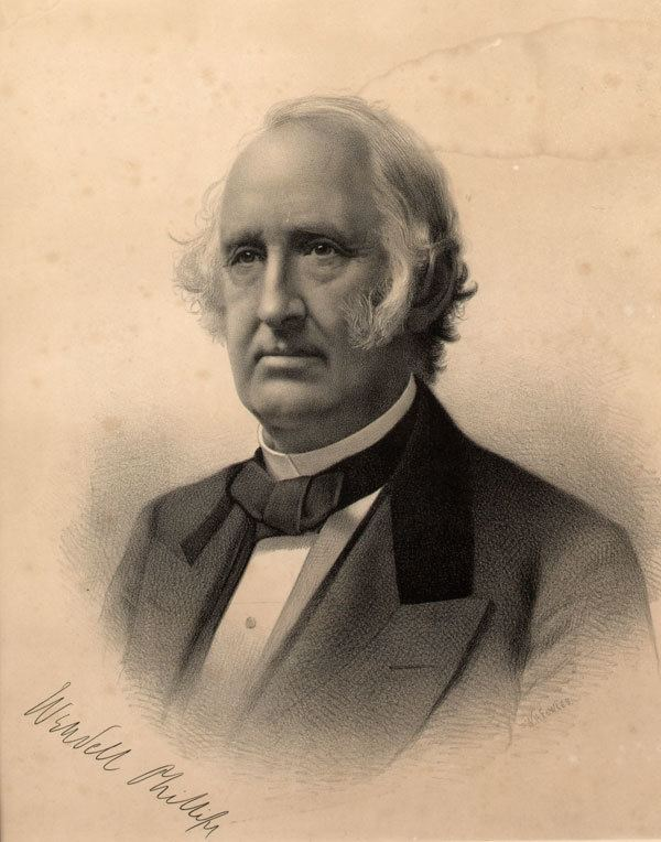 Wendell Phillips Wendell Phillips In This Day Quotes QuotesGram