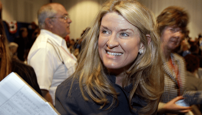 Wendy Long With thanks and no competition GOP picks Wendy Long to face Schumer