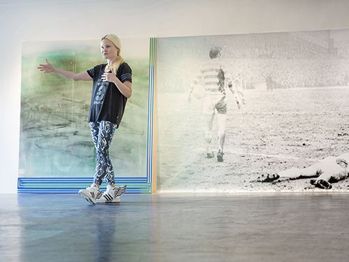 Wendy White (artist) Wendy White exhibition CURVA SCADedu