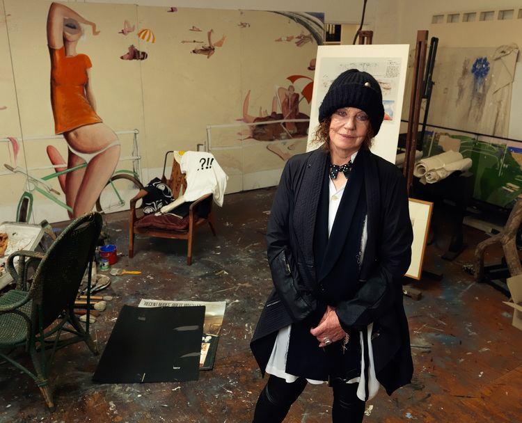 Wendy Whiteley Wendy Whiteley in Brett Whiteley Studios Nic Bezzina