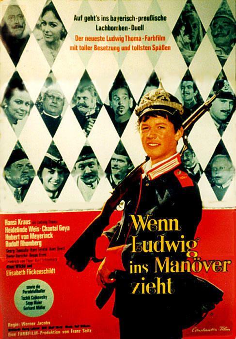 Wenn Ludwig ins Manöver zieht Wenn Ludwig ins Manver zieht Film 1967 moviepilotde
