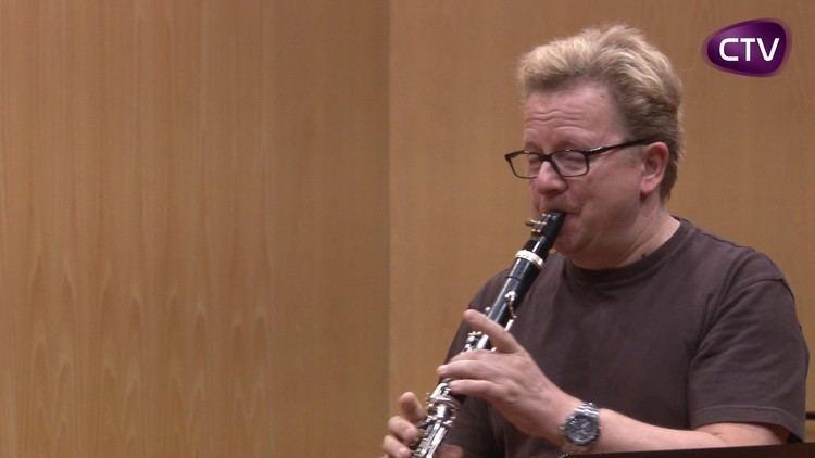 Wenzel Fuchs CURS DEL PRESTIGIS CLARINETISTA WENZEL FUCHS A SANTA C