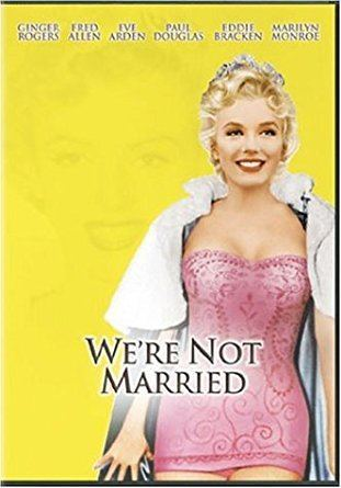 Amazoncom Were Not Married Ginger Rogers Marilyn Monroe Victor
