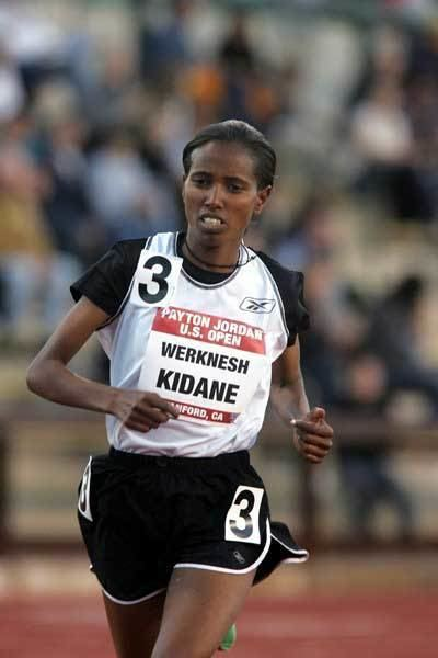 Werknesh Kidane Sports Werknesh Kidane of Ethiopia set a US Allcomers