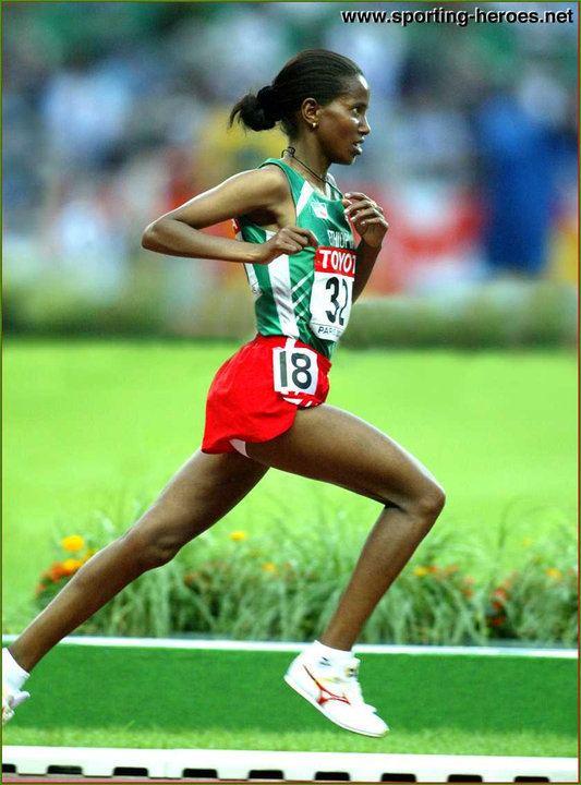 Werknesh Kidane Werknesh Kidane 2003 World Champs 10000m silver result