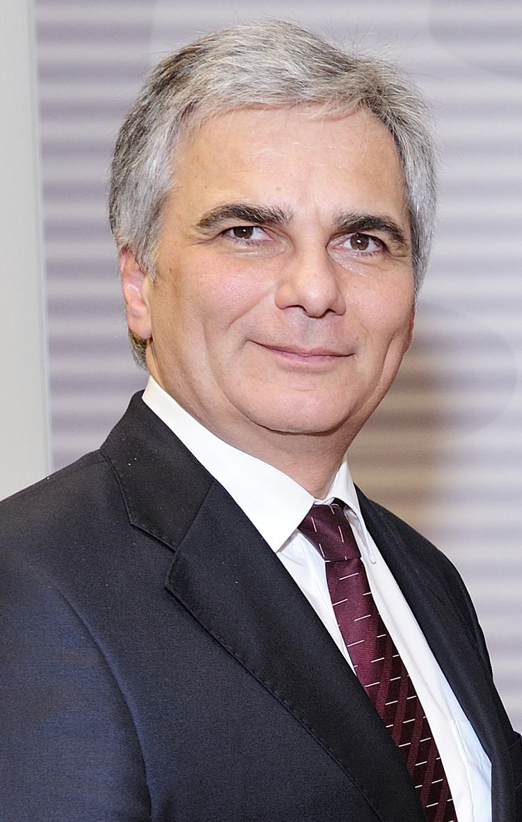 Werner Faymann Chancellor of Austria Wikipedia the free encyclopedia