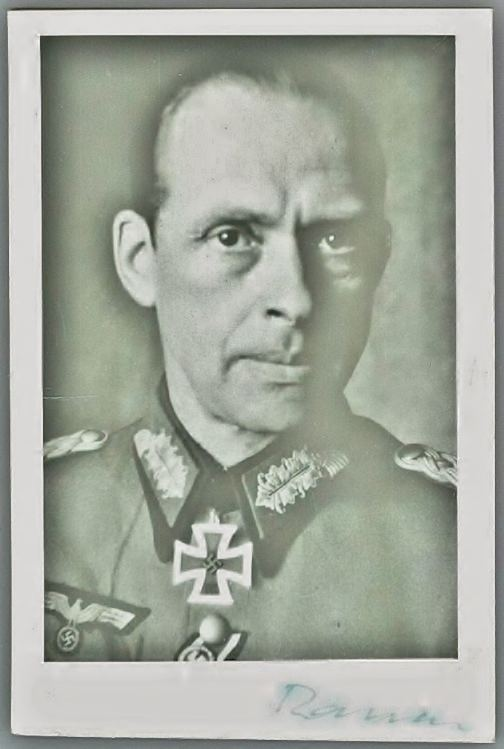 Werner Ranck G 01 P LT GENERAL WERNER RANCK RKT TWICE SIGNED FOTO