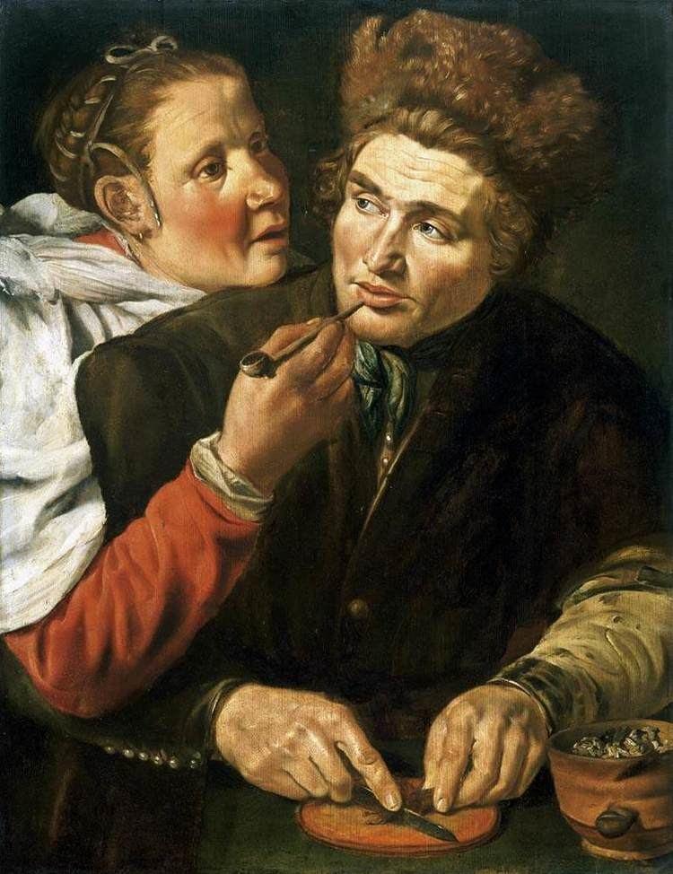 Werner van den Valckert FileWerner van den Valckert A Man Cutting Tobacco WGA24211jpg