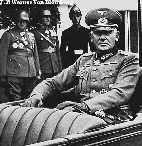 Werner von Blomberg Field Marshal Werner Von Blomberg Back Seat Driver 50007