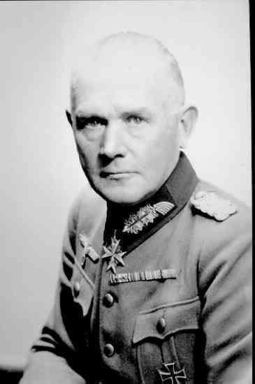 Werner von Blomberg Blomberg